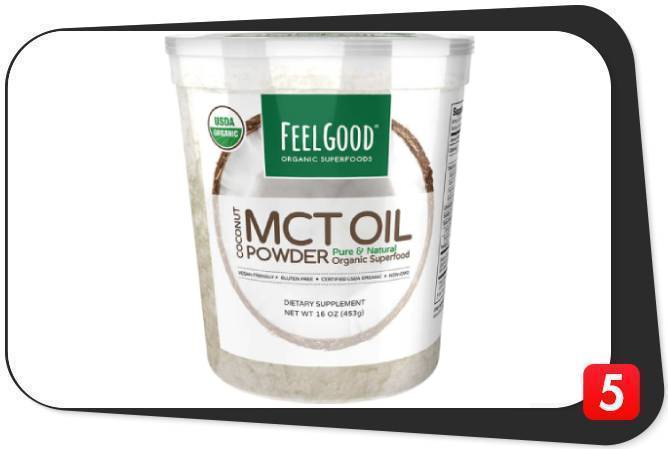 Feel Good USDA Organic MCT Oil Powder Review