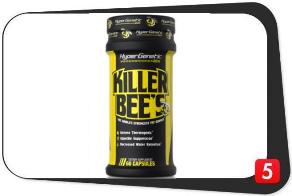 HyperGenetic Killer Bee's Fat Burner Review