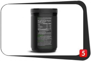 Sports Research MCT Oil Powder Supplements Facts