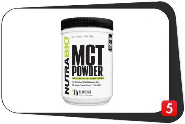 NutraBio MCT Powder Review