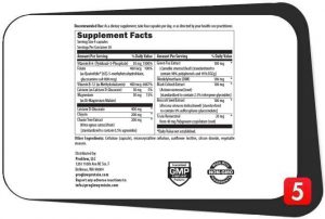 ProGlow All Good Supplements Facts
